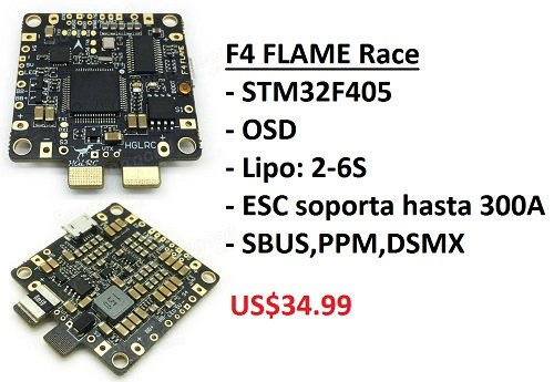 F4 FLAME Race Spec STM32F405